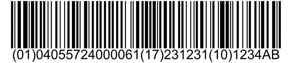 ¿Qué es la etiqueta GS1-128?