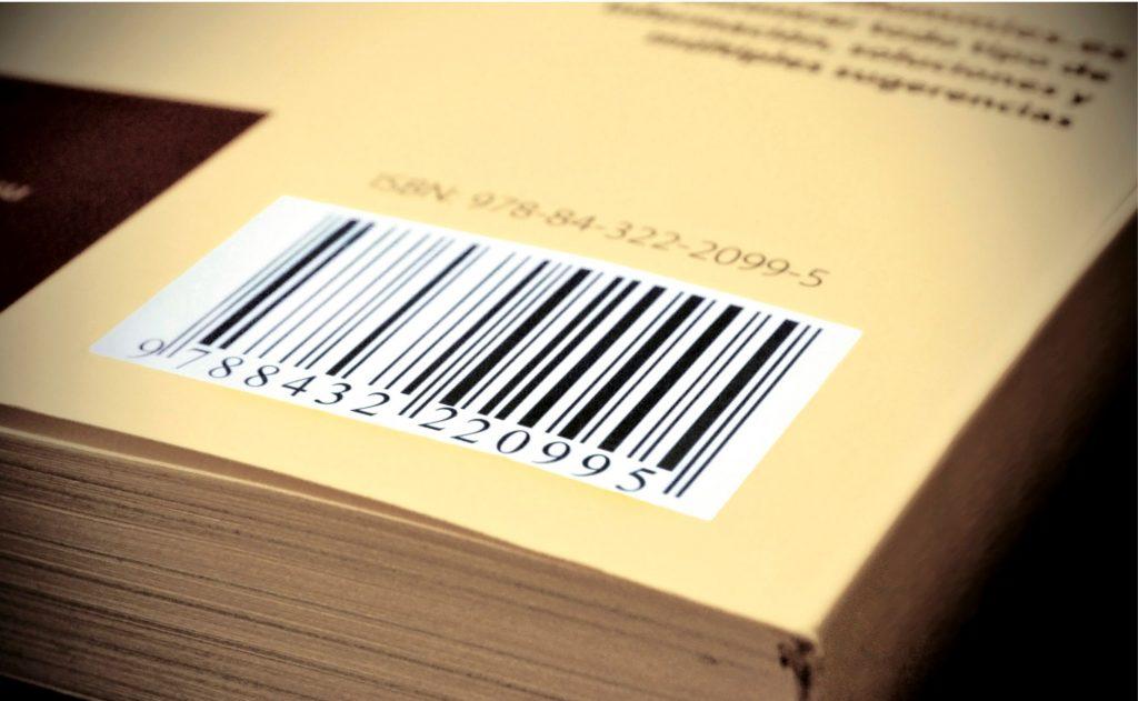 Dónde colocar el ISBN en un libro
