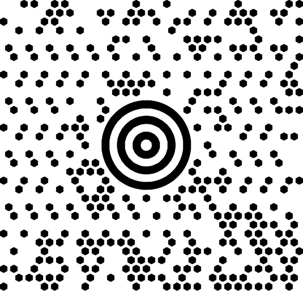 El Maxicode se trata de una simbología de alta densidad