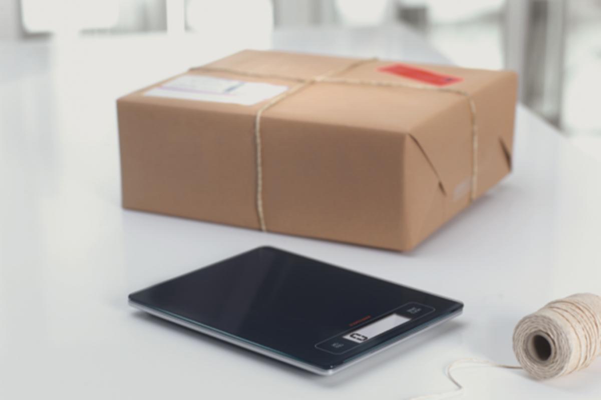Envío de paquete con código 128